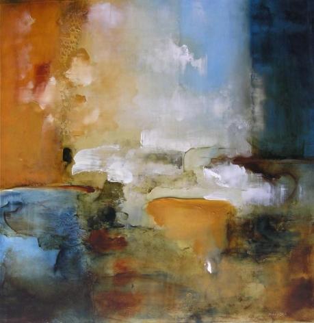 MARUSKA-Joseph_White_Froth_oil on plastic_33x33