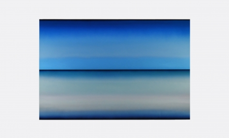 Brindle,Mid Refraction,48x72,acrylic,automotive paint and resin_s