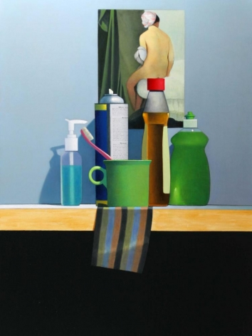 DAMIANO-Frank_Keep_it_Clean_oil on canvas_48x36