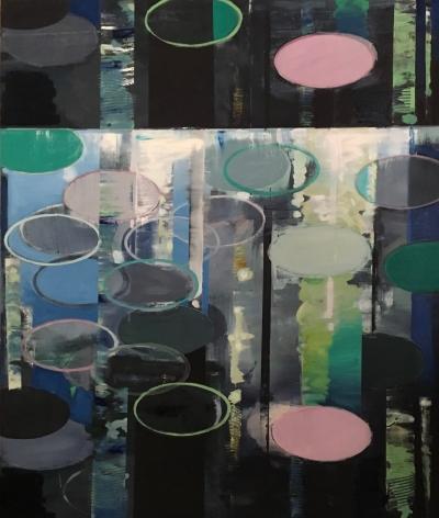 GREENBERG-Sheldon_Bubbles in the Stream_oil on canvas_72x60