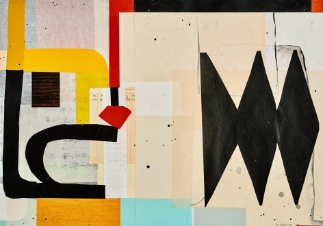 HARRIS-Alfred_Untitled 1843_mixed media on paper_17.5x25.5