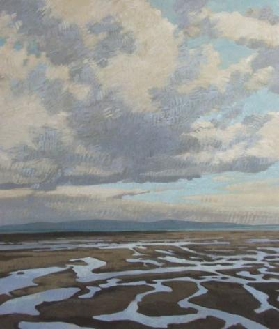Strasburg-Nicole-Winter_Storm_Tide_oil on panel_42x36