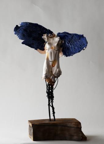 DAHL-Carl_Small blue winged angel - female_19x9x7_s