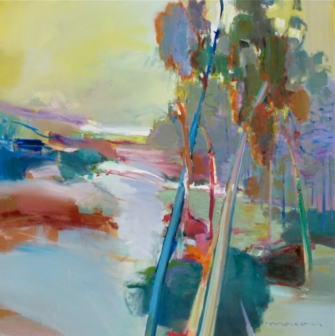 MAXON-John_Treelines_oil on canvas_48x48 inches
