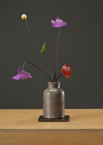 ANDERSON-David Kimball_Spring_bronze, steel and paint_21x12x6 inches_s