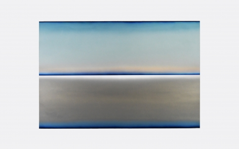 Brindle,Distant Light,48x72,acrylic,automotive paint and resin_s