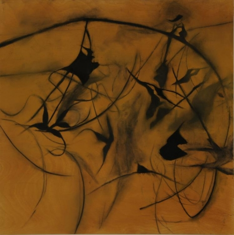 DAVIDOFF-Suzi_Fiskars_September_Shadow_7_pigment and charcoal on wood panel_21x21