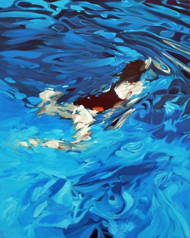 ANDERSON-Benjamin_Swimmer_oil on canvas_60x48_sold