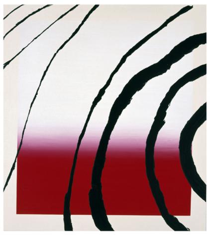 SCHNABEL-Julian_Last Attempt at Attracting Butterflies, I_10-color silkscreen_56x51 inches