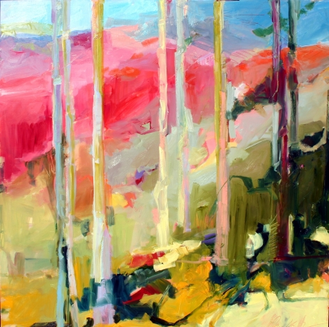 RAINFORTH, Barbara_Spring Forest III_48x48_s