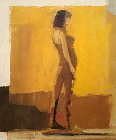 CHASE-Jamie_Gold Figure_acrylic on canvas_24x20 inches