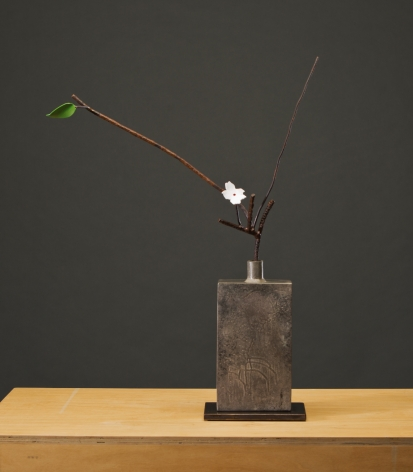 ANDERSON-David Kimball_Apple_bronze, steel and paint_29x21x9 inches_s
