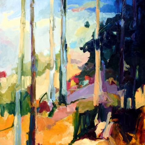 RAINFORTH, Barbara_Spring Forest IV_ 48x48_s