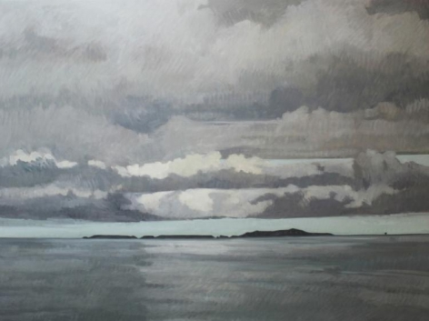 Strasburg-Nicole_Stormy_Anacapa_oil on panel_36x48