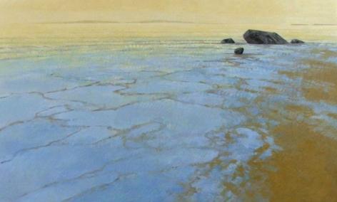 Strasburg-Nicole_Morning_Tide_oil on panel_36x60