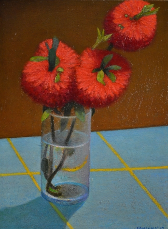 DAMIANO-Frank_Still Life with Bottlebrush_12x9