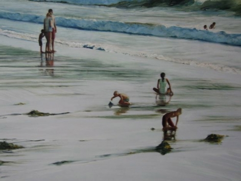 BROWN-Isabel_Reluctant_Summer_oil on canvas_36x48