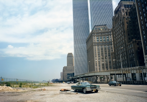 West Side Highway, New York City, from the series Recreation, 1977. Chromogenic print, 28 x 42 inches.