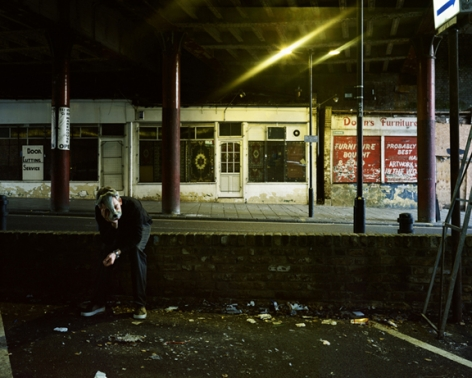 The Fall of the Night, 2009,20 x 26 or 48 x 60 inch Cibachrome print