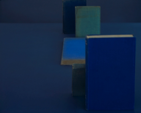 Diebenkorn Blues, from the seriesBlue Books, 2004. Archival pigment print, 28 x 35, 20 x 25, or 14 1/2 x 18 inches.