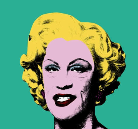 Andy Warhol / Green Marilyn (1962), 2014, Archival pigment print, 35 x 35 inches