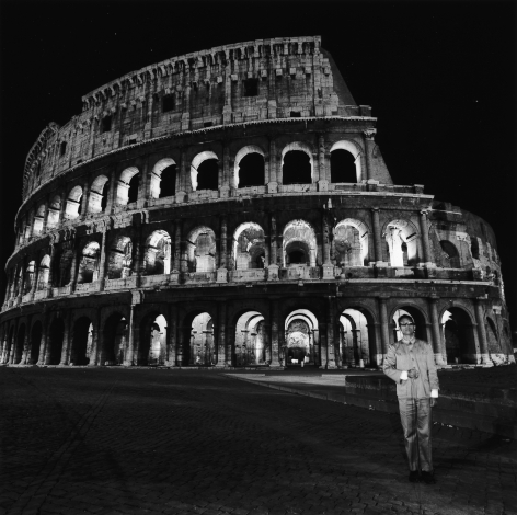 Rome, Italy, 1989. Gelatin silver print, 16 x 16 inches.