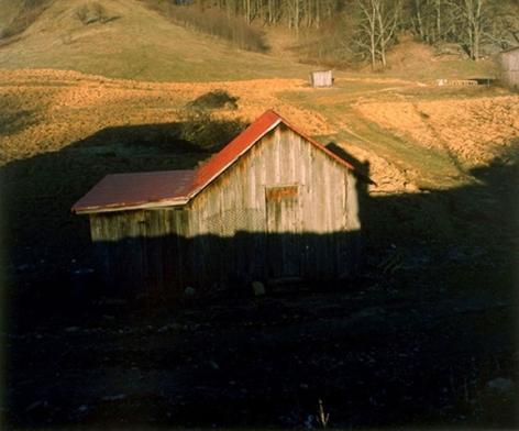 Carter County, TN, 1996 Ektacolor print 20 x 24 inches