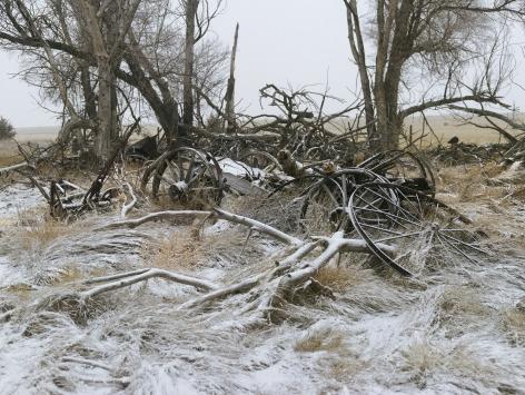 Buckboard Wagon, Sheridan County, Nebraska,2013