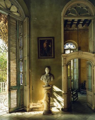 Andrew Moore,Casa Veraniega, Galeria, Havana,1998, 60 x 50 inch chromogenic print.