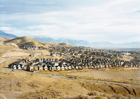 Untitled, (Housing development), Near Draper, Utah, 2017. Chromogenic print.