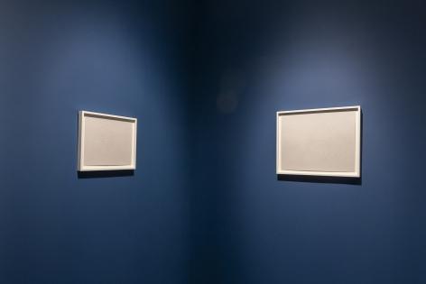Halos,installation view.