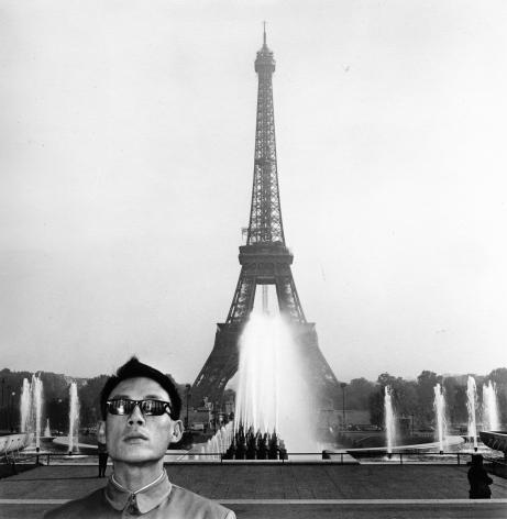 Paris, France, 1983. Gelatin silver print, 16 x 16 inches.