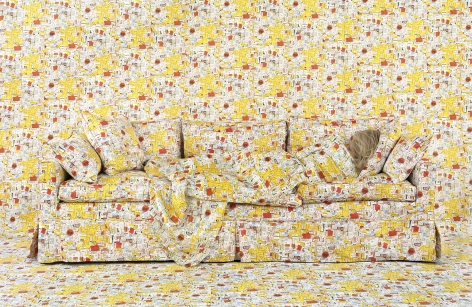 Lost in My Life (Price Tags Reclining), 20 x 30, 35 x 65, or 90 x 60 inch archival pigment print