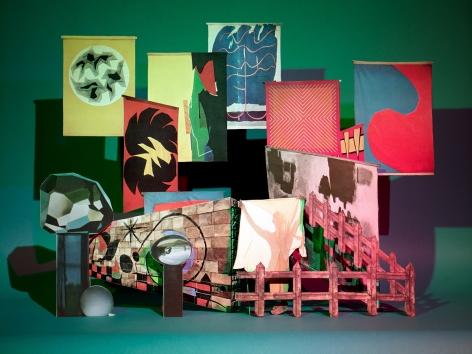 Untitled (Shape), 2010. Chromogenic print, 40 x 53 inches.