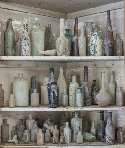 Bottle Corner, Demopolis, AL, 2016. Archival pigment print.