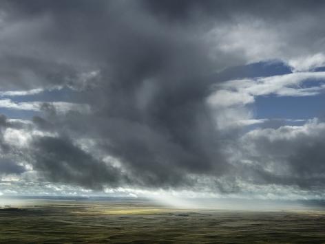 Sun through Rain, Dawes County, Nebraska,2013.