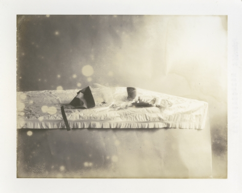 Laura Letinsky,Untitled #65fromTime's Assignation, 2005. Polaroid type 55.