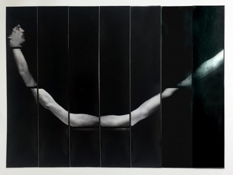 Jared Bark,Untitled, PB #1216,1976. Vintage gelatin silver photobooth prints, 7 7/8 x 11 inches. Unique.