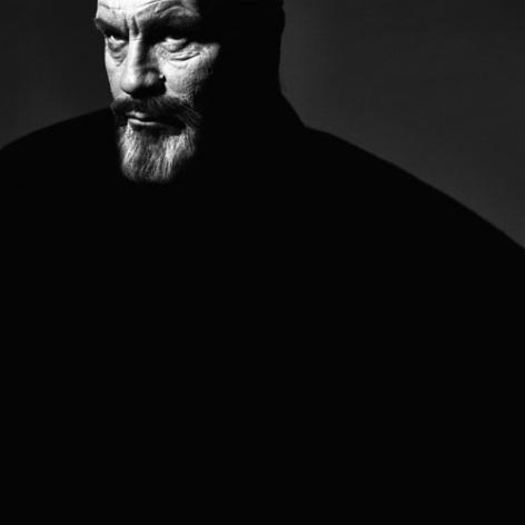 Victor Skrebneski / Orson Welles, Actor, 30 October (1970),Los Angeles Studio, 2014,Archival pigment print,19 x 19 inches