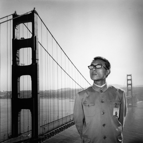 San Francisco, California, 1979.Gelatin silver print, 16 x 16 inches.