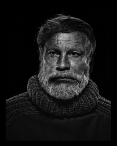 Yousuf Karsh / Ernest Hemingway (1957), 2014,Archival pigment print,18 x 14 inches