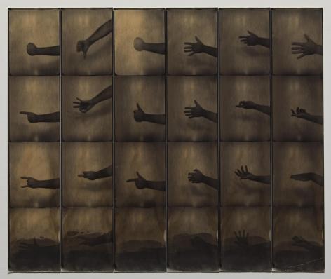 Jared Bark,Untitled PB #1124, 1974. Vintage gelatin silver photobooth prints.
