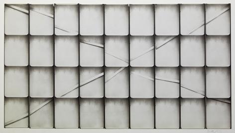 Untitled, PB #1023, 1974. Gelatin silver photobooth prints, vintage.