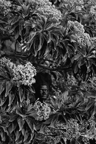 Zanele Muholi,Qhamukile, Mauritius, 2019. Gelatin silver print,39 3/8 x 26 5/8 inches.