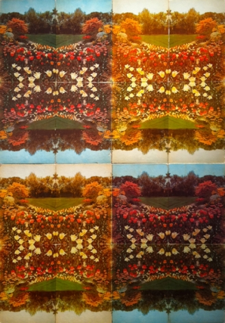 An Encyclopedia of Gardening, 2010,found book covers mounted to21 x 29 inchaluminum panels