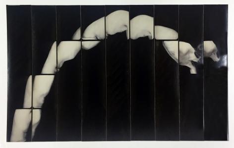 Jared Bark,Untitled, PB #1217,1976. Vintage gelatin silver photobooth prints, 7 7/8 x 14 1/8 inches. Unique.