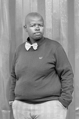 Lungile Cleo Dladla, KwaThema Community Hall, Springs, Johannesburg, 2011, From the Series Faces and Phases.