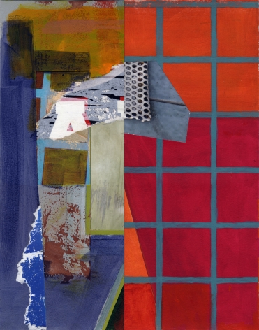 Mary Lum,Untitled IV,2021. Collage, 14x 11 inches.