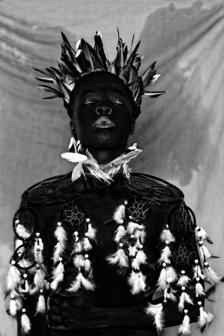 Zanele Muholi,Bukhosi II, Parktown, 2016.Gelatin silver print.