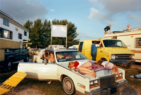 Cocoa Beach I, FL, from the series Recreation, 1983. Chromogenic print, 20 x 24 or 28 x 42 inches.